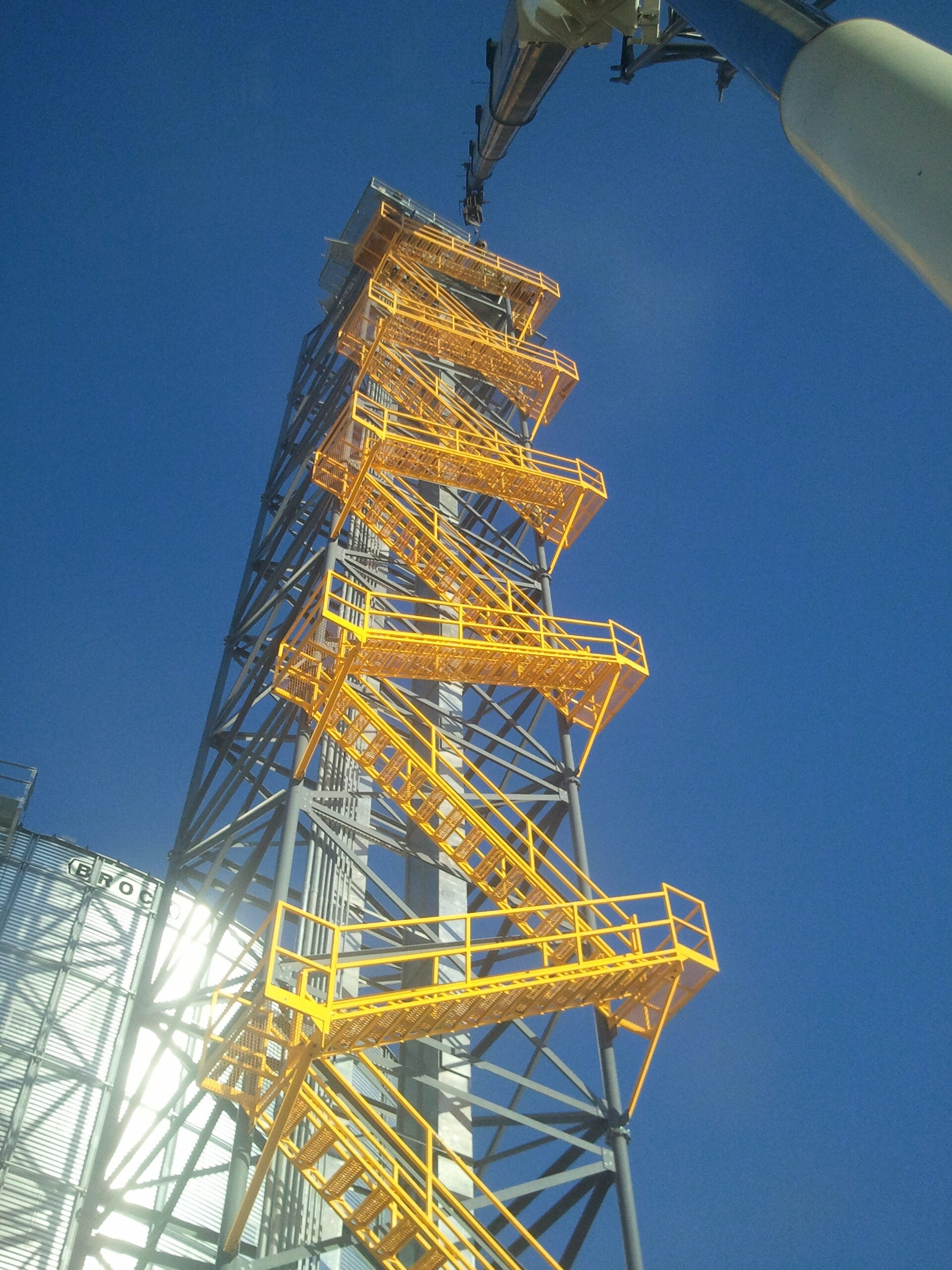 reif welding and construction site